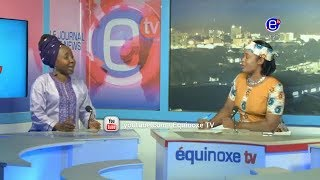 THE 6PM NEWS (GUEST: Edith KAH WALLA)WEDNESDAY JANUARY 9th 2019 - EQUINOXE TV