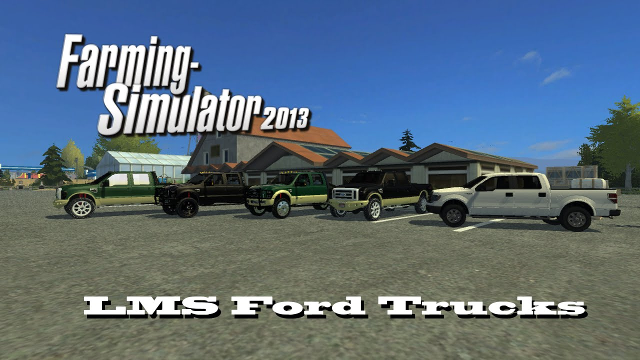 Farming Simulator 2013: Mod Favorites #2: LazyMod Studio's Ford Trucks