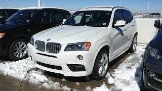 2014 BMW X3 xDrive28i M Sport (Start Up, In Depth Tour, and Review)