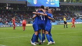 Highlights: Italia-Svizzera 3-1 - Femminile (29 maggio 2019)