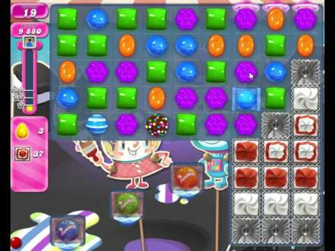 Candy Crush Saga LEVEL 1879 (Remove All The Icings Before Matching Lucky Candies)