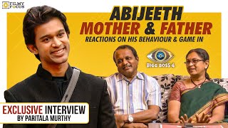 Exclusive Interview: Abijeet Mother and Father Reactions on His behavior and game in  BiggBoss House