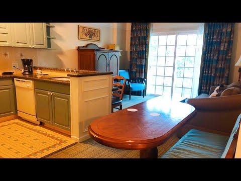 Disney's Saratoga Springs 1 Bedroom Villa Room Tour | DVC | Walt Disney World | August 2018