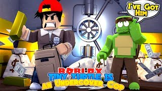 ROBLOX - TINY TURTLE IS AN UNDERCOVER COP & CATCHES ROPO!!