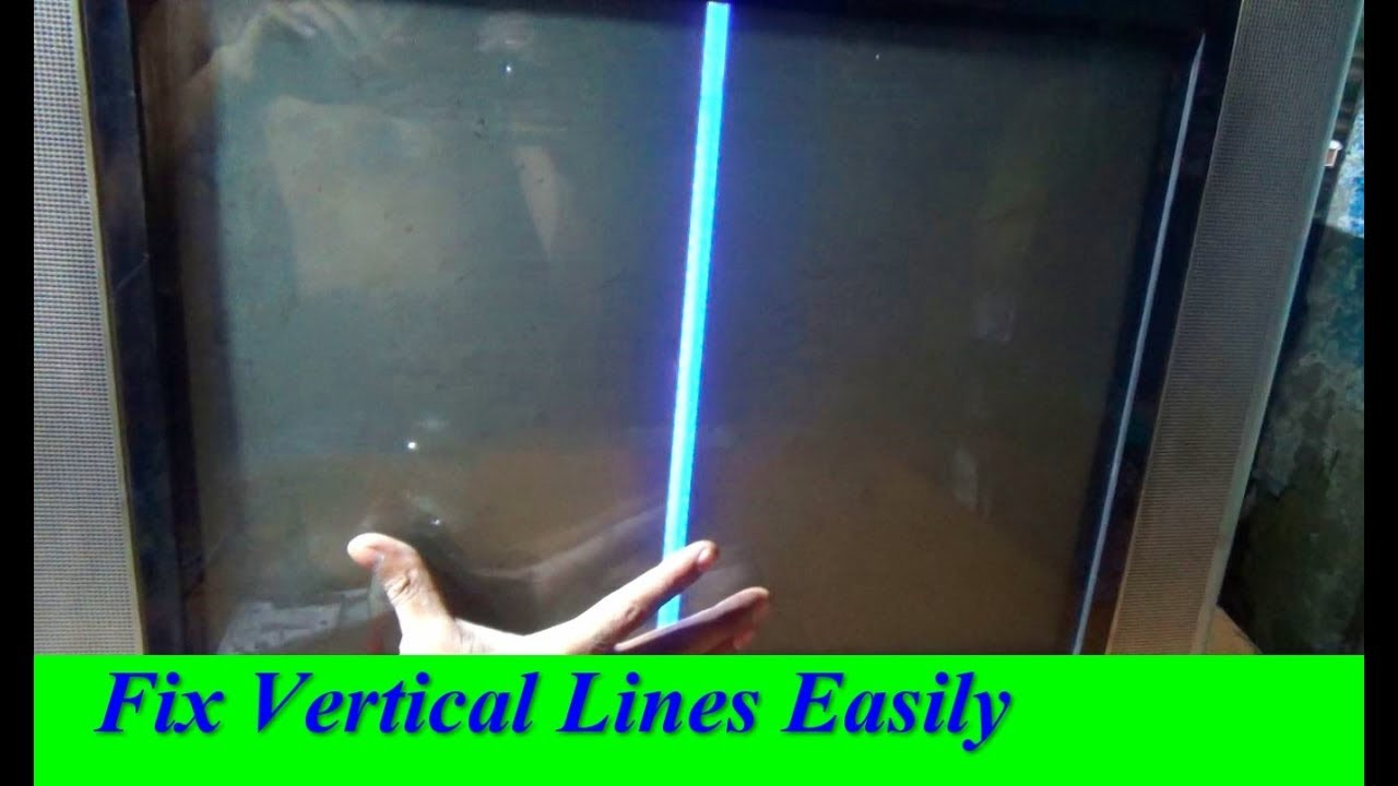 hight resolution of how to repair vertical lines of color television part 1 bengali tutorial