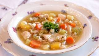 Skinny Chicken Vegetable Soup - A Recipe For Weight Loss And Fitness