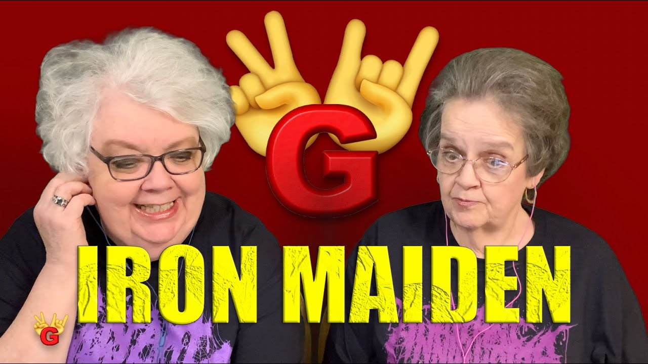 2RG REACTION: IRON MAIDEN - NUMBER OF THE BEAST (LIVE) - Two Rocking Grannies!