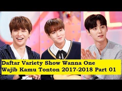 Lengkap!! Daftar Variety Show WANNA ONE 2017-2018 Part 01