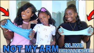 Not My Arm Slime Challenge FT Panton Squad