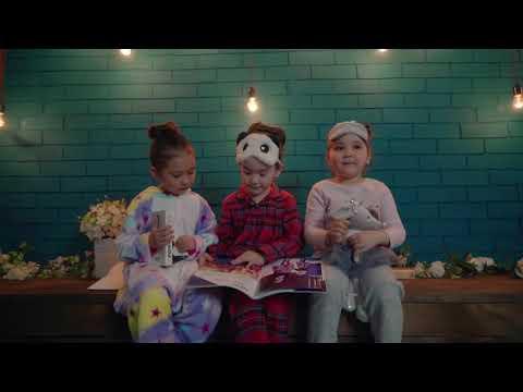Профессиональный клип «Пижамная вечеринка»,самые маленькие модели «Brilliant models»