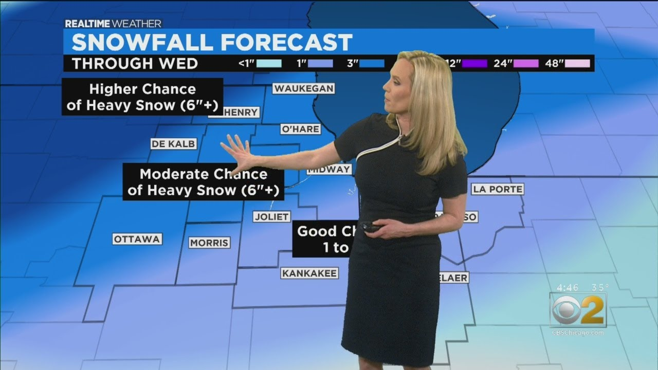 Chicago Weather: Winter Storm Approaching