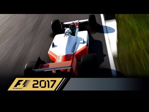 F1 2017 GAMEPLAY | 25% UNEDITED RACE | THE McLAREN MP4/4 AT BRAZIL