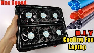 DIY Cooling Fan For Laptop | DIY At Home