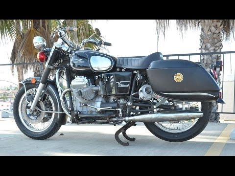 1974 moto guzzi eldorado police for sale with friction siren sold youtube. Black Bedroom Furniture Sets. Home Design Ideas