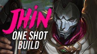 Imaqtpie - ONE SHOT JHIN BUILD!