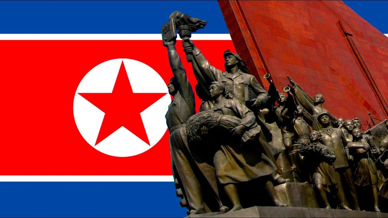애국가! Aegukka! Anthem of the Democratic People's Republic of Korea! (English Lyrics)