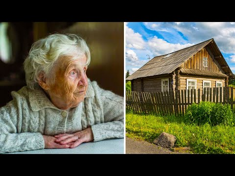 Родные бросили больную бабушку одну в деревне, а через год они её едва узнали