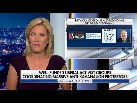 What Role Is George Soros Playing in Anti-Kavanaugh Protests? 'The Ingraham Angle' Investigates