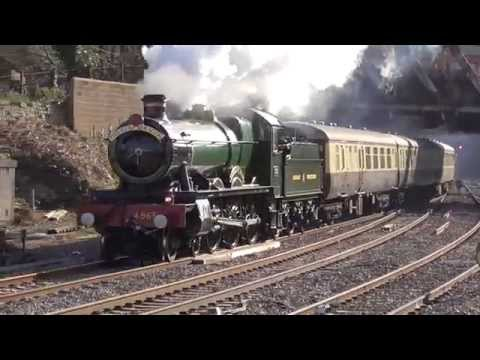 Newport Railway Station - featuring GWR Hall 4965 Rood Ashton Hall