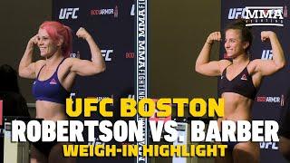 UFC on ESPN 6: Gillian Robertson, Maycee Barber Make Weight - MMA Fighting