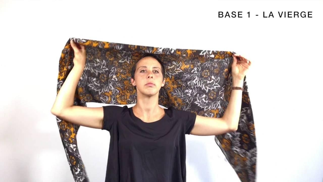 Relativ Tête et foulards - Le tutoriel pour apprendre à mettre un foulard  DO53