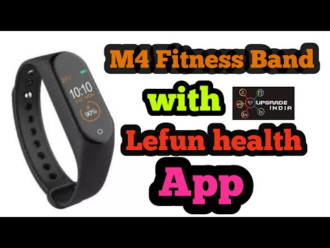Lefun m4 band   M4 Band   M4 Band unboxing   M4 band tutorial by Upgrade India thumbnail