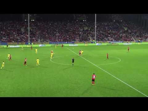 QUEL, 3. krog: Freiburg - Domžale 1:0
