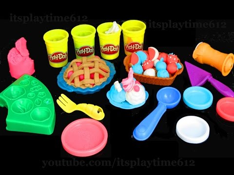 NEW Play-Doh PLAYFUL PIES Best Fun Creative Activity For Kids   itsplaytime612