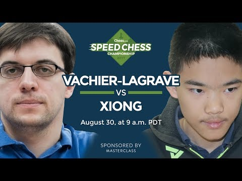 Speed Chess Championship: Maxime Vachier-Lagrave vs Jeffery Xiong