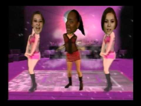 Show de Dançar - Patricia Gonçalves e Cia Barbie Girl - Dancing Heads