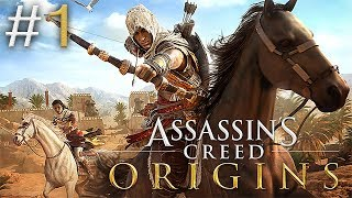 ЗАПИСЬ СТРИМА ► Assassin's Creed Origins #1