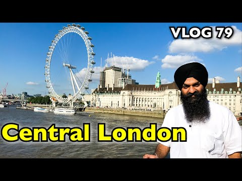 Central London | VLOG 79 - Bhai Gagandeep Singh (Sri Ganga Nagar Wale)