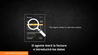 Automatización de facturación con Automation Anywhere