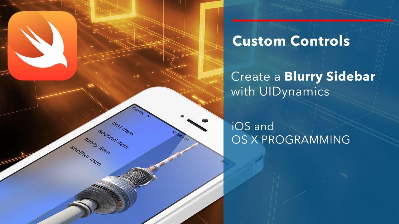 New video tutorial series: introducing custom controls.