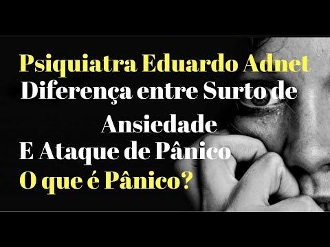 Pânico, Ataque De Pânico, Crise De Pânico E Surto De Ansiedade - Psiquiatra Eduardo Adnet