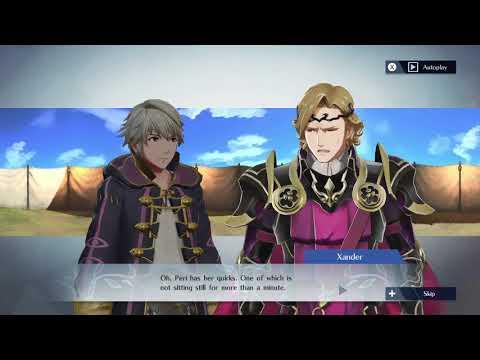 Fire Emblem Warriors  Robin and Xander Support Conversation
