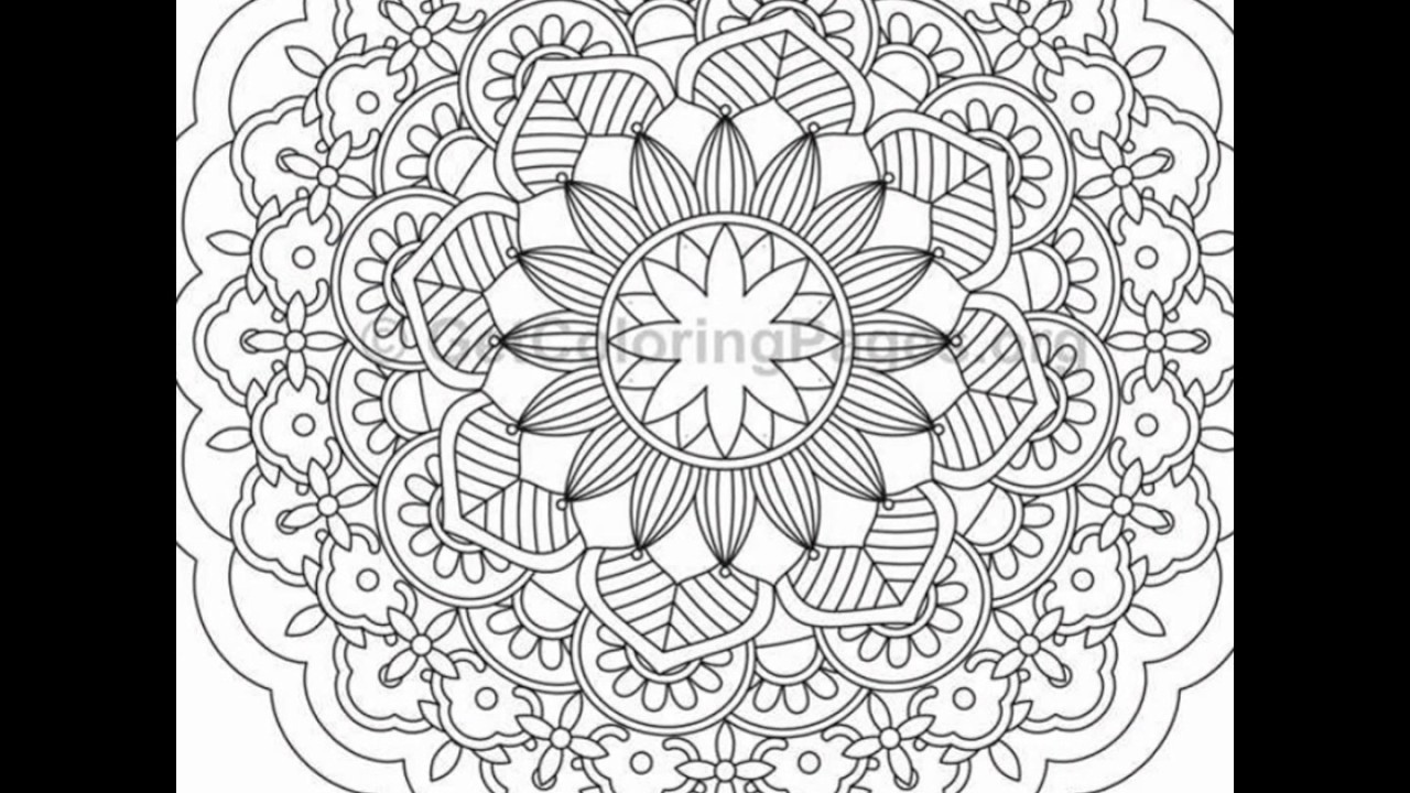 Free Mandala Coloring Pages To Print Printable Pdf For ...   720x1280