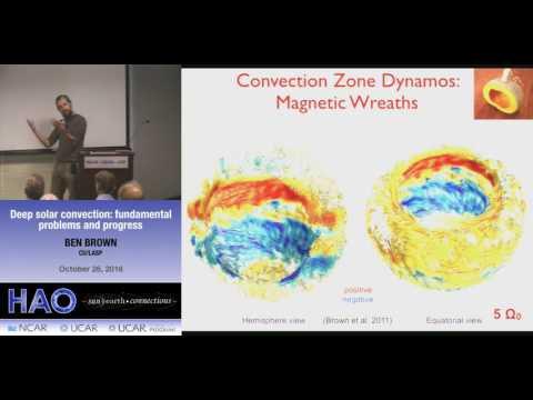 Ben Brown | CU:LASP | Deep solar convection: fundamental problems and progress