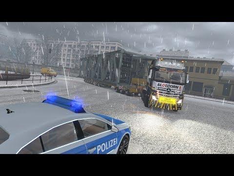 ETS2 1.30.2.2s (Special Transport DLC!!!) - Mercedes-Benz Actros MP4 - Dortmund (D) - Hannover (D)