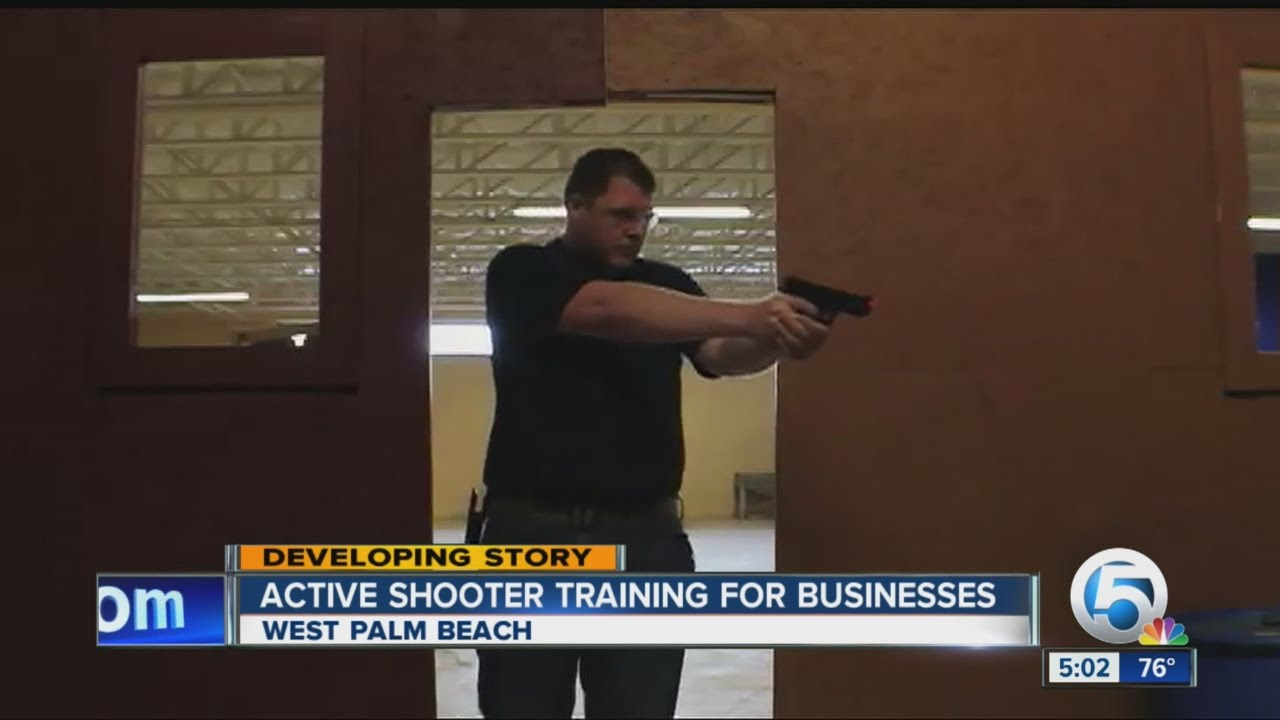 Active shooter training for businesses - YouTube