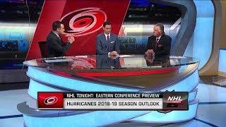 NHL Tonight: Season previews the 2018-19 Carolina Hurricanes  Oct 1,  2018