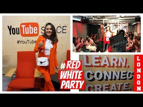 GANHEI PRÊMIO NO YouTube SPACE LONDRES/REDANDWHITEPARTY #YTFW - 동영상