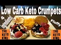 LIVE: Making Keto Pancakes / Keto Crumpets For Breakfast (EASY Keto Pancake recipe)