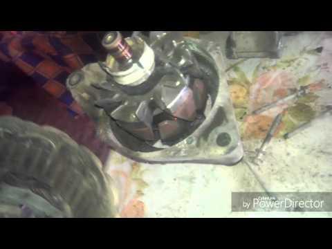 видео: Ремонт генератора ВАЗ инжектор