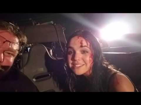Bailee Madison on the Set of Strangers 2