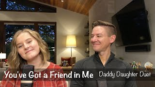Daddy Daughter Duet  You've Got a Friend In Me  Disney Toy Story  Mat and Savanna Shaw