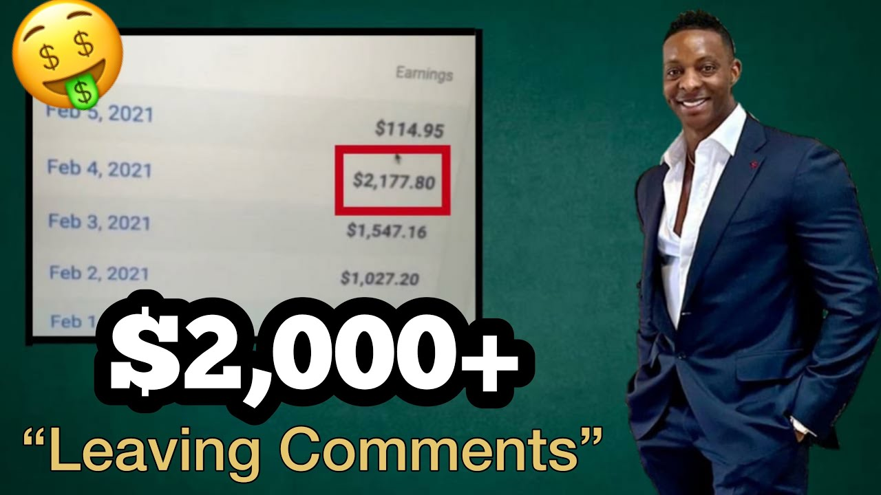 Earn $2,000+ Leaving Comments On This Site | Make Money Online | How To Make Money Online