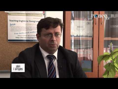 219 - Viti i ri akademik 2014/2015 - Bujar Imsa me prof. Zeqir Veselaj