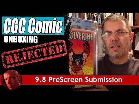 CGC Comic Unboxing: 9.8 PreScreen