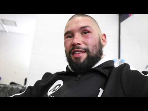 'I AM DONE MATE' - EMOTIONAL TONY BELLEW REACTS TO 'HEARTBREAKING' FINAL DEFEAT TO OLEKSANDR USYK